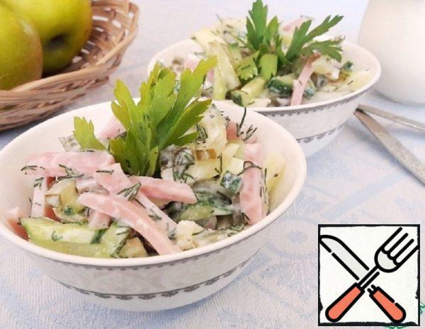 """Salad """"Harmony of Taste"""" Recipe"""
