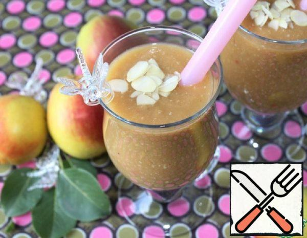 Smoothie with Oat flakes, Pear and Juice Recipe
