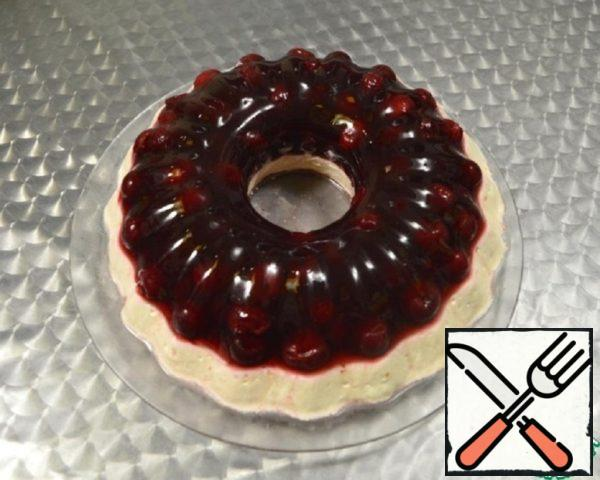 Cake Jelly Cherry-Curd Recipe