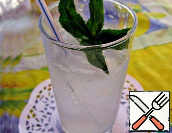 A Refreshing Drink with Lemon and Mint Recipe