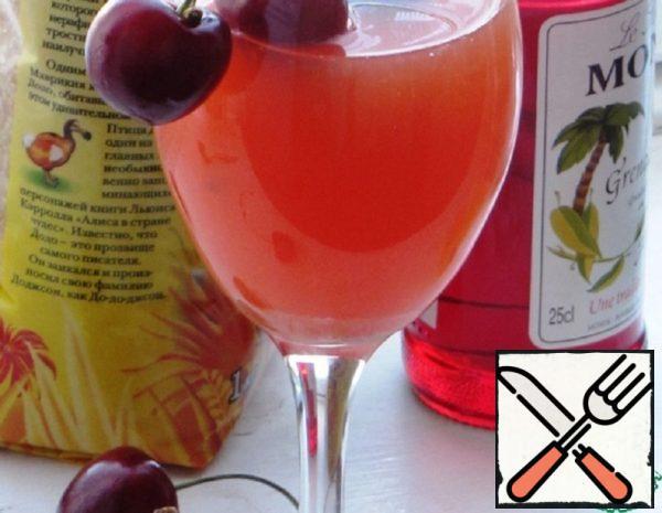 Orange Cocktail with Grenadine Syrup Recipe