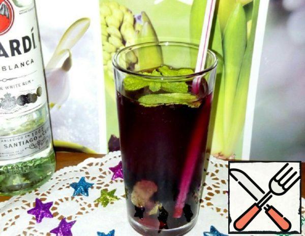 Home-Style Blueberry Mojito  Recipe