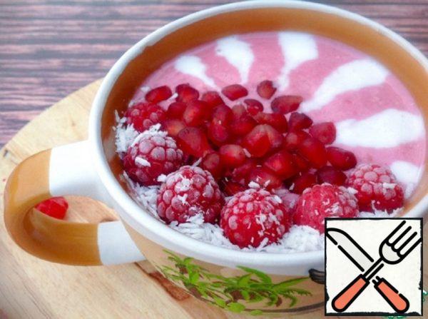 Raspberry and Pomegranate Smoothie Recipe