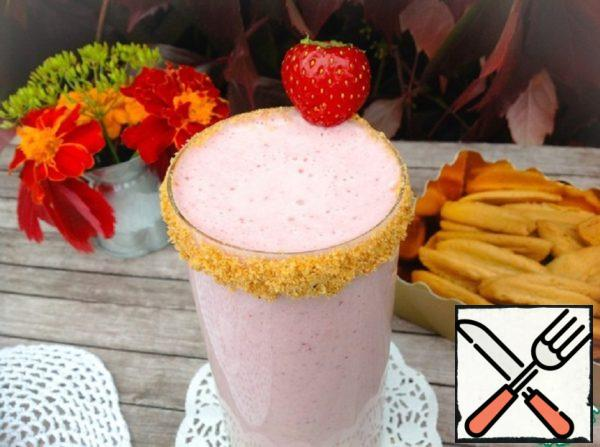 "Smoothie ""Strawberry Cheesecake"" Recipe"