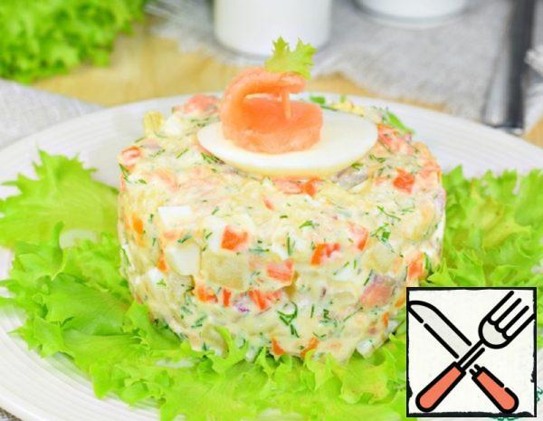 "Salad ""Frigate"" Recipe"