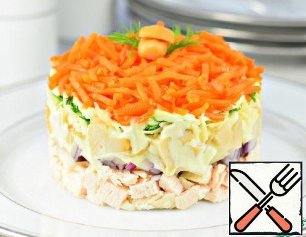 "Salad Layer ""Carousel"" Recipe"