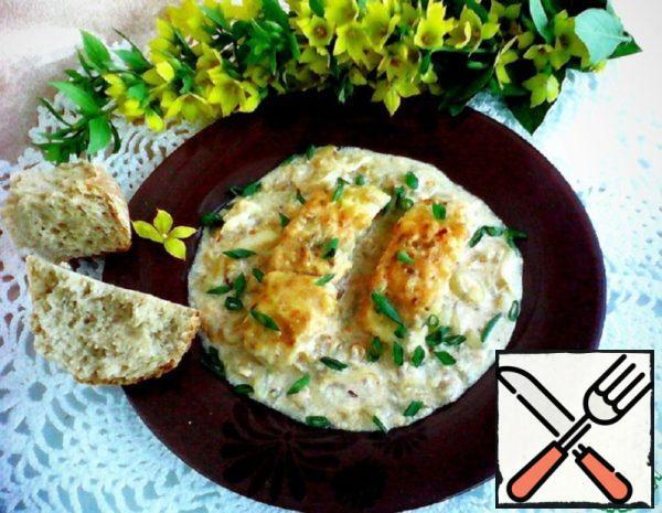 Fish Stewed in Baked Milk Recipe