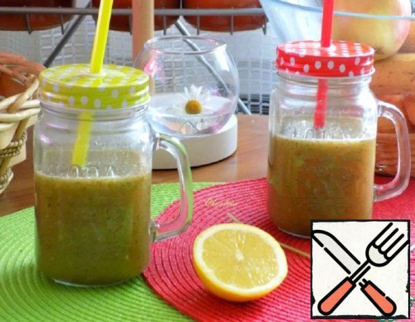 Banana-Apple Smoothie with Cilantro Recipe
