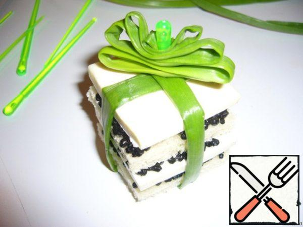 """Canapes """"Gifts for the White Tiger"""" Recipe"""