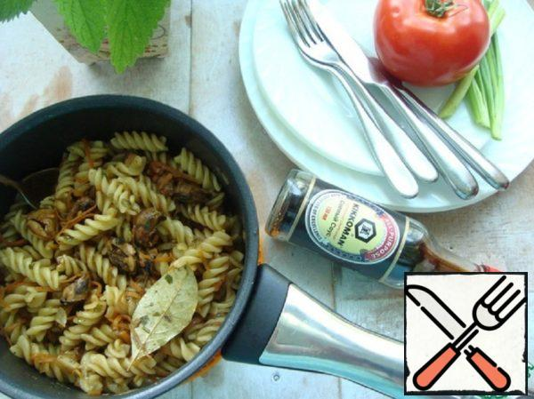 Mussels with Pasta Recipe