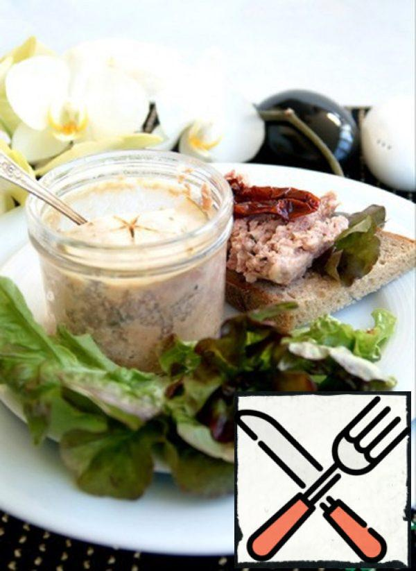Chicken and Pork Terrine with Apple Recipe