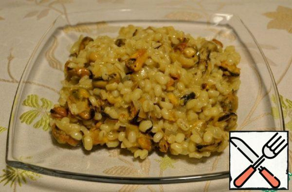 Risotto with Mussels Recipe