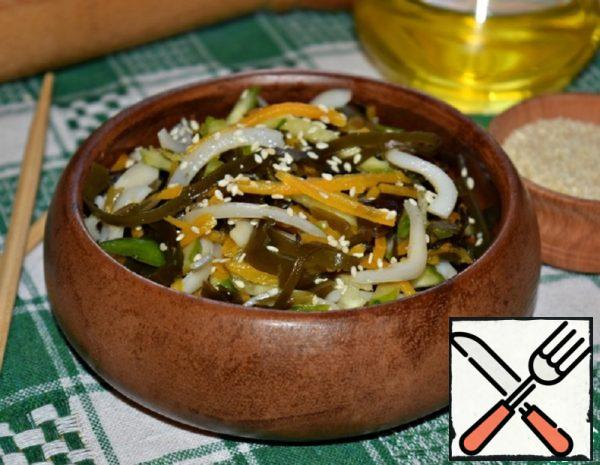 The Seaweed Salad with Squid Recipe