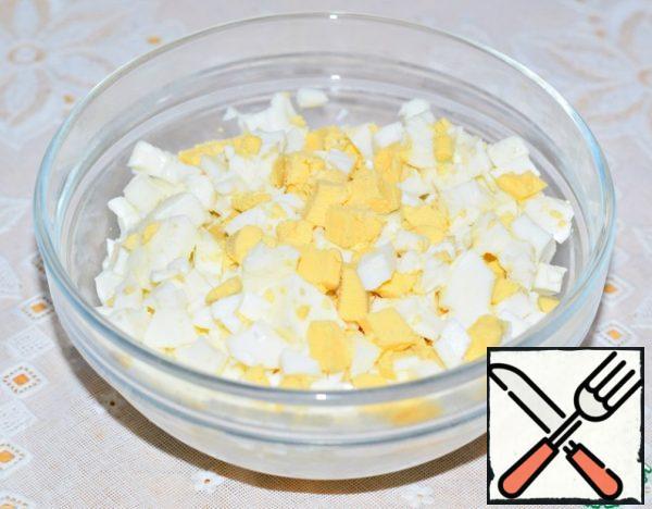 Eggs chop.