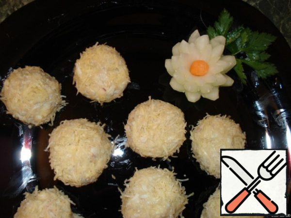 Cheese Balls with Cod Liver Recipe