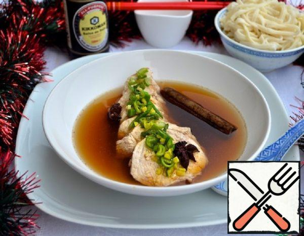 Chicken Stewed in Chinese Broth Recipe