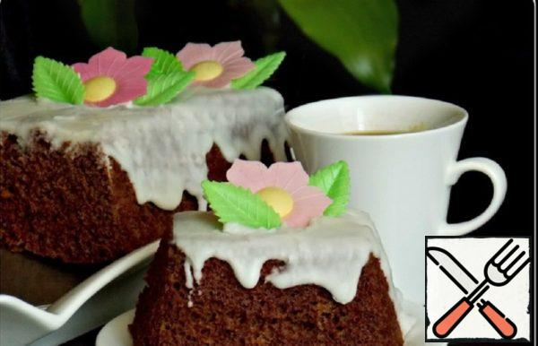 Quick Chocolate Cake in the Microwave Recipe