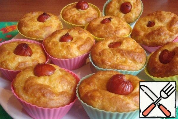 "Cupcakes ""Hot Dog"" Recipe"