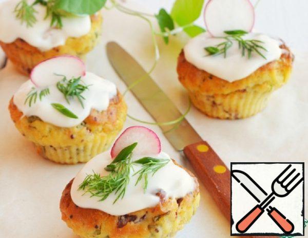 Snack Potato Muffins Recipe