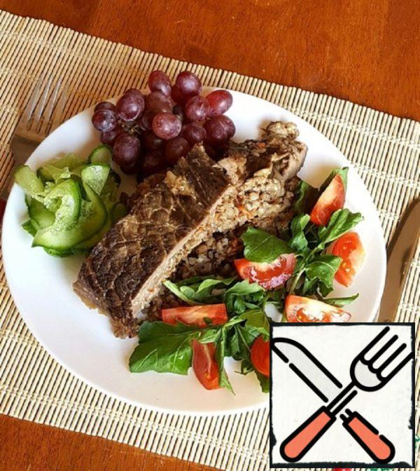 Beef with Buckwheat in the Oven Recipe