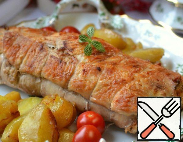 Turkey Roll with Buckwheat Recipe