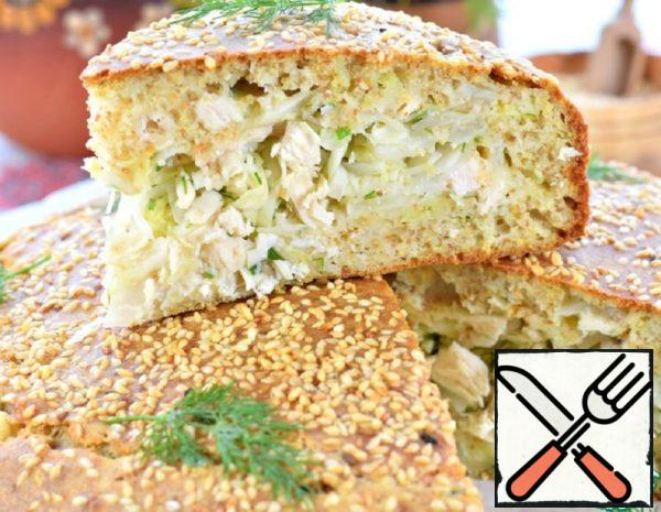 Cabbage Pie with Chicken Recipe
