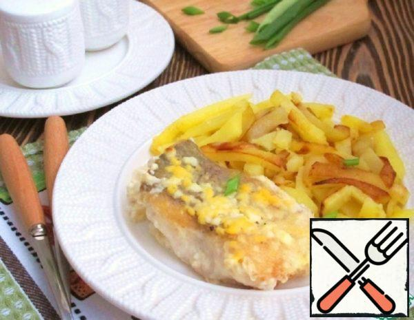 The Pike-Perch in Butter Sauce with Egg Recipe