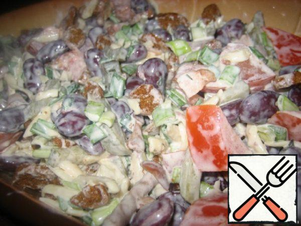 "Salad ""Princess"" Recipe"