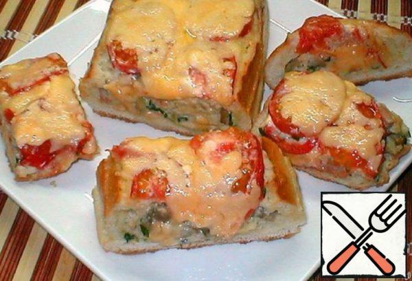 Express Pie of Bread Recipe