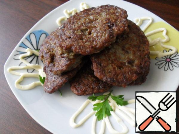 Liver Cutlets with Buckwheat Recipe