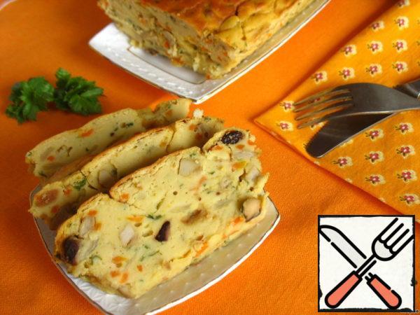 Pea Casserole Recipe