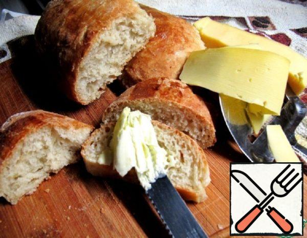 """Bread without kneading """"Lazy"""" Recipe"""