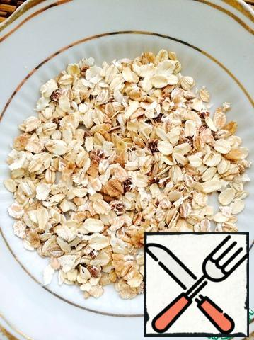 Take oat flakes (without sugar!!)