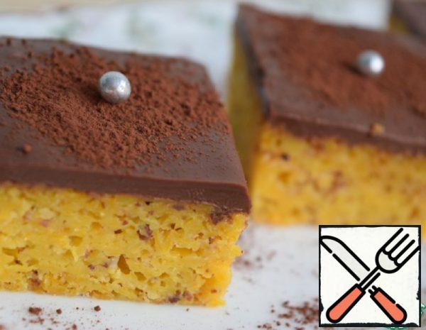 Pumpkin Pie with Chocolate Icing Recipe