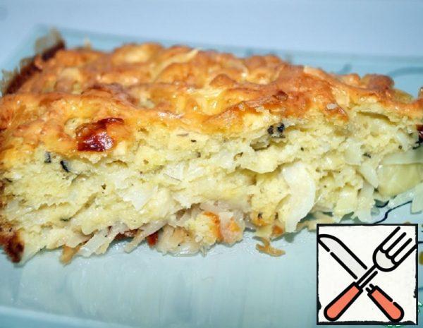 Quick Cabbage Pie Recipe
