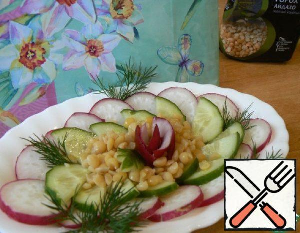 Salad with Peas Recipe