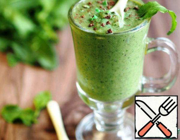 Cocktail-Smoothie from Sorrel and Flakes Recipe
