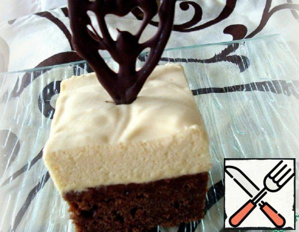 Brownies with Caramel Mousse Recipe