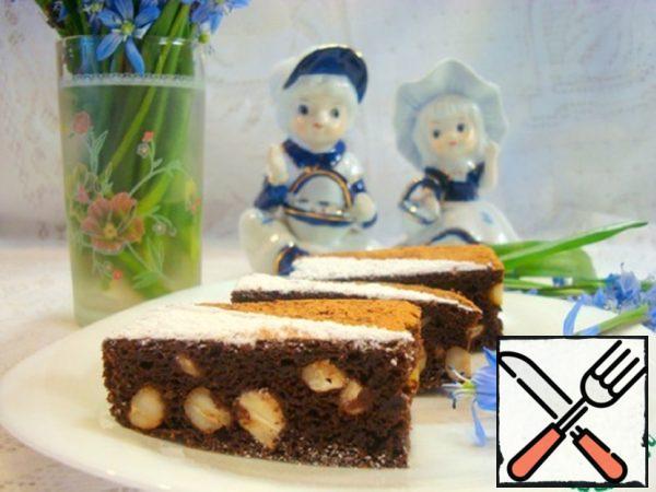 Beet-Apple Chocolate Brownies with Cashew Recipe