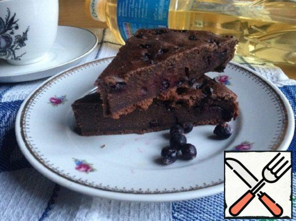 Lean Brownies with Currants Recipe