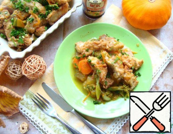 Juicy Pollack Recipe