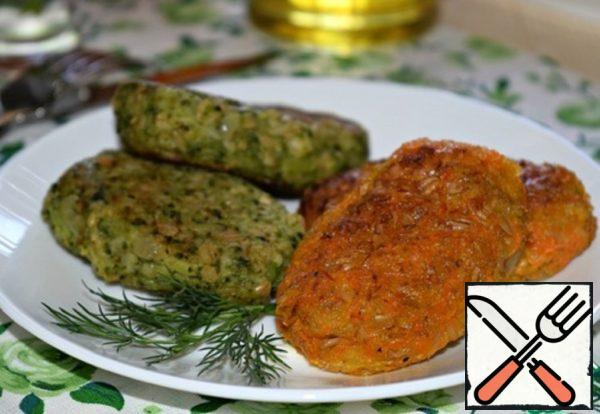 Vegetable Cutlets with Oat Flakes Recipe