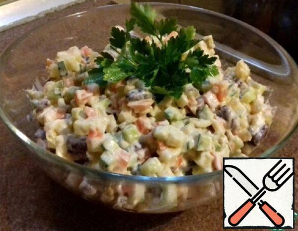 "Vegetable Salad ""Instant"" Recipe"