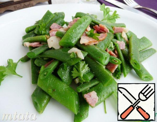 Green Bean Salad with Bacon Recipe