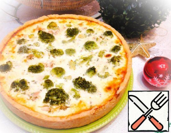 Quiche with Chicken and Broccoli Recipe