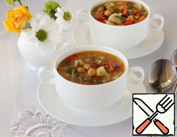 "Vegetable Soup ""Fitness"" Recipe"