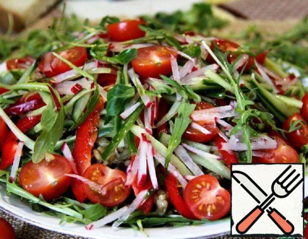 "Salad ""Warm coast"" Recipe"