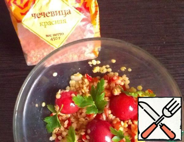 Salad with Lentils Recipe