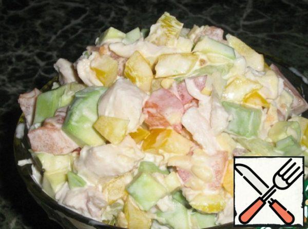 Avocado Salad Recipe
