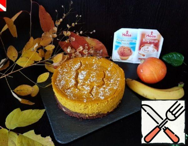 "Cheesecake ""Brownies-Pumpkin-Banana"" Recipe"